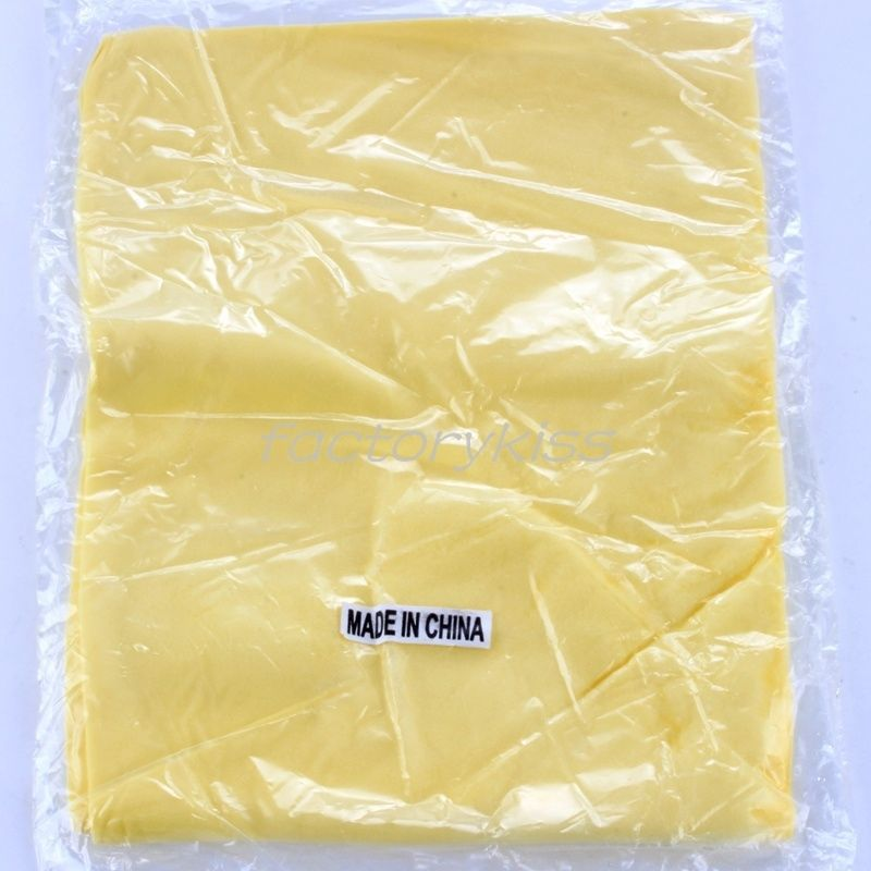Free Shipping Synthetic Chamois Leather Cleaning Towel Car Wipe Wash Cloth 43x32cm 2 4003-744(China (Mainland))