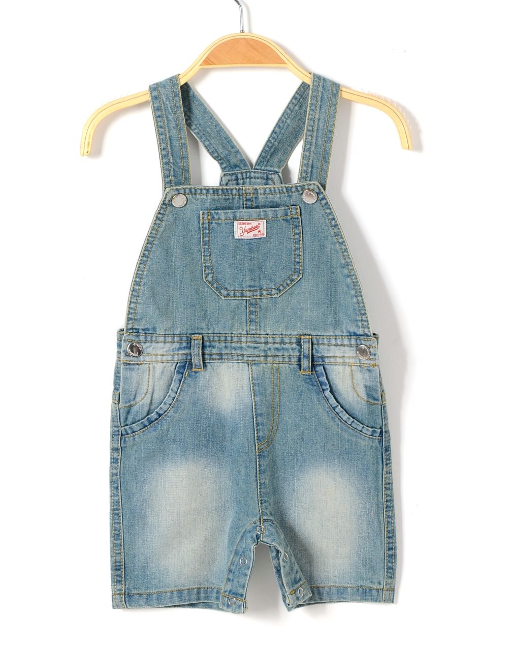 baby boy brand denim romper newborn jeans playsuit summer kids overall short pants boy dungaree toddler onesie jumpsuit clothing(China (Mainland))