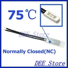 Buy 10Pcs/lot 75C Degree Celsius NC Normal Close Thermal Protector Sensor Thermostat temperature control fuse switch 250V 5A KSD9700 for $4.88 in AliExpress store