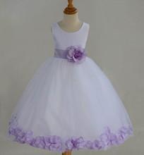 Girl dress 2015 nuovo vestito da sera per le ragazze abiti pageant per adolescenti a buon mercato abiti flower girl per matrimoni(China (Mainland))