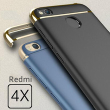 Buy 3 1 Luxury Case Xiaomi Redmi 4x Cover 360 Degree Protection Hard PC Mobile Phone Bag Xiomi redmi 4 X 5.0 Shell Coque for $3.99 in AliExpress store