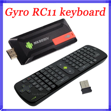 2.4Gzh Measy RC11 Air Fly Gyro Mouse Keyboard MK809IV RK3188T Android TV Box Quad Core Mini PC A9 1.4G Bluetooth 2G/8G MK809 IV(China (Mainland))