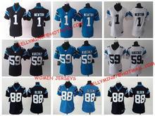 100% Stitiched,Carolina Panthers,Cam Newton,Luke Kuechly,Greg Olsen for women(China (Mainland))