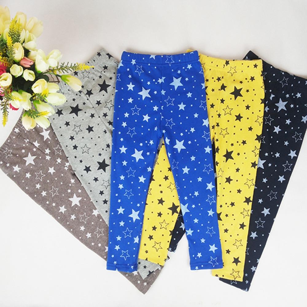 2-7Y Kid Girls Baby Star Printed Stretchy Leggings Trouser Warm Slim Tight Pants<br><br>Aliexpress