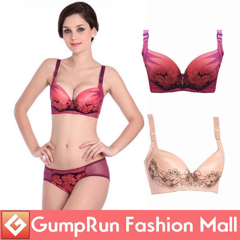 New 2014 Fashion High Quality Women Bra Set Sexy Plus Size ...