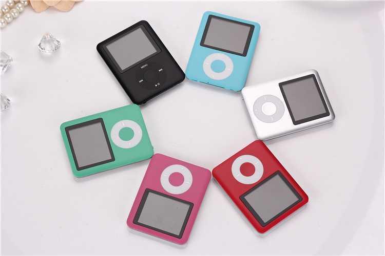 MP4 Player FOR IPOD nano 3 3th Generation 8GB FM VIDEO E-Book Free Shipping(China (Mainland))