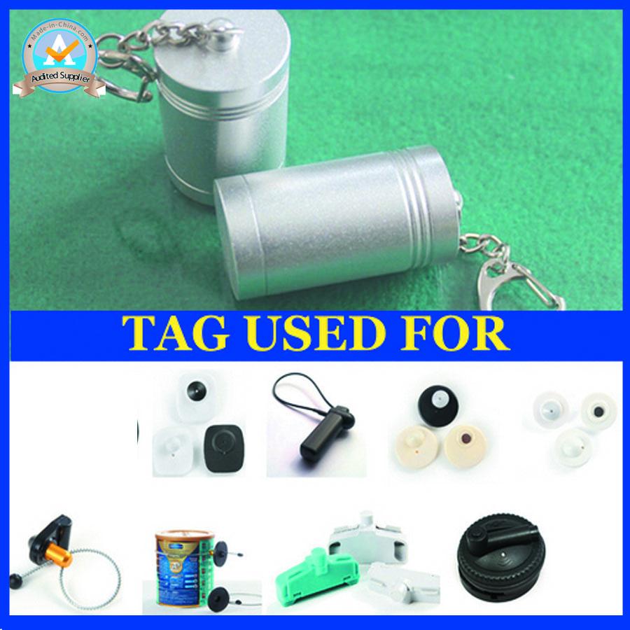 2016 new development mini super security tag detacher eas hard tag remover portable and mini key detacher design free shipping(China (Mainland))