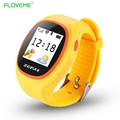 FLOVEME Kid s GPS Tracking Smart Watch Anti lost Smartwatch GPRS SIM Card Children Watches SOS