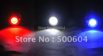 High Power 9W Ultra-thin screw Car LED Condenser Lens Eagle Eye with 3 light-emitting core Reverse Backup Rear Tail Light Lamp