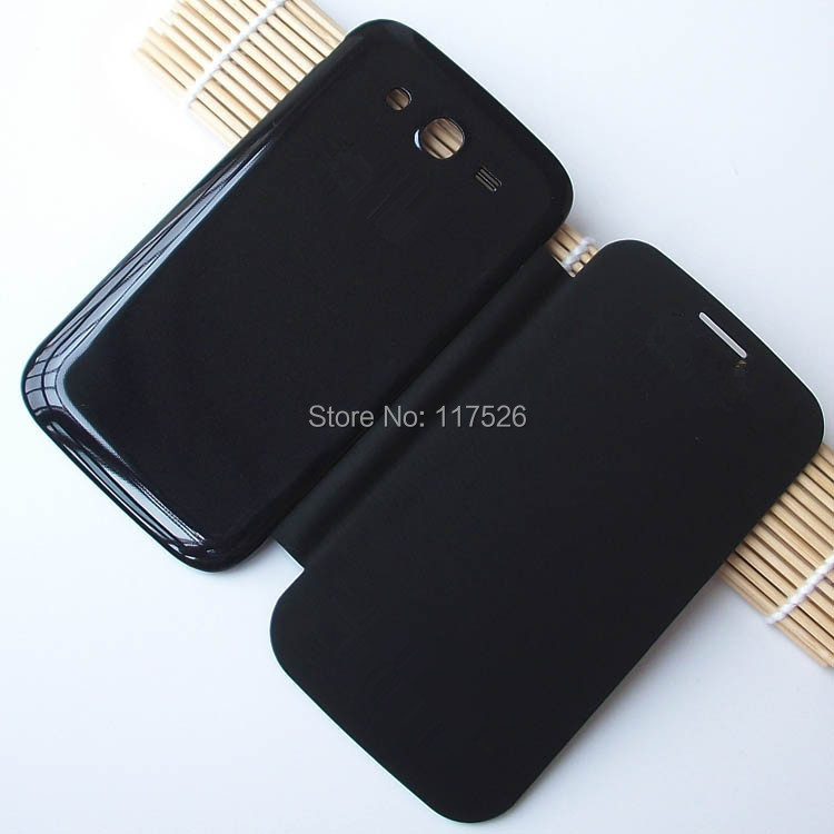 Original PU Leather Back Cover Battery Housing Flip Case for Samsung Galaxy Grand Duos i9082 i9080 9082 9080 Mobile Phone Cases(China (Mainland))