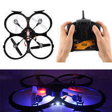 Black UFO UDI U818A 2.4GHz 4 CH 6 Axis RC Quadcopter Drone RC Helicopter SYNC IMAGE Mode 2 Wifi 3D Roll
