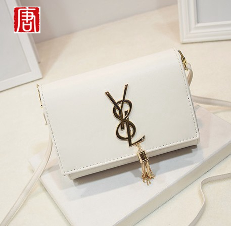 New Fashion Women's Handbag Trend Mini-package Envelope Bag Messenger Bag Free Shipping Shoulder tassel Messenger Bag(China (Mainland))