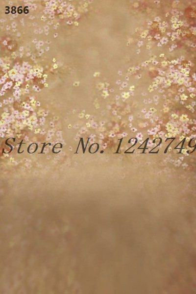 Oilpainting100cmx125cm wedding romantic baby solid color wall background little flower new props photography background for 2015