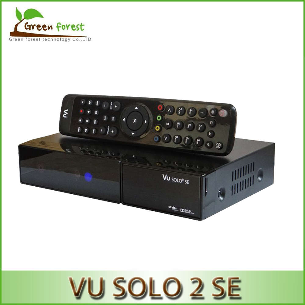Vu Solo 2 SE Linux Reciever Vu Solo2 SE Twin Tuner Decoder 1300 MHz CPU digital satellite tv recever 2 dvb-s2 Tuner STB(China (Mainland))