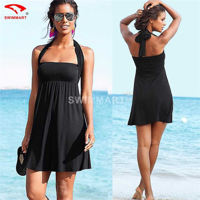 12 Colors Magic Wrapped Chest Beach Cover Up 2015 Sexy Strap Bandage Beach Wear Dress Women 's Sarong Summer Beach Bathing Suit(China (Mainland))