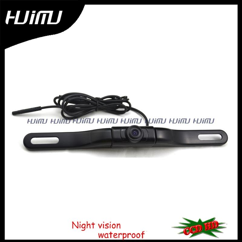 Free Shipping,New CCD HD IR LED lights night vision License Plate Rear View Camera parking Assistance camera ,adjust angle(China (Mainland))