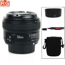 Buy YONGNUO YN 50mm f/1.8 AF Lens YN50mm Aperture Auto Focus Large Aperture Nikon DSLR Camera AF-S 50mm 1.8G for $79.99 in AliExpress store