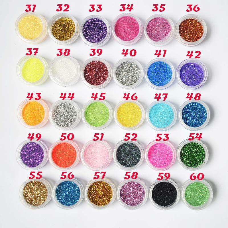 30Pcs/lot Glitter Nail Art Dust Tool Kit Acrylic UV Powder Dust Gem Polish Nail Tools Nail Art Decoration Nail Glitter Makeup(China (Mainland))
