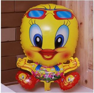 10pcs/lot Manufacturers selling new cartoon aluminum foil balloon tusya aluminum film balloon children toy sales(China (Mainland))