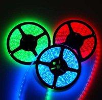 Free Shipping [Sharing Lighting]5m 5050 Non-Waterproof RGB/White/Warm White/Red/Blue Flexible Led Strip Lighting+IR Controller(China (Mainland))