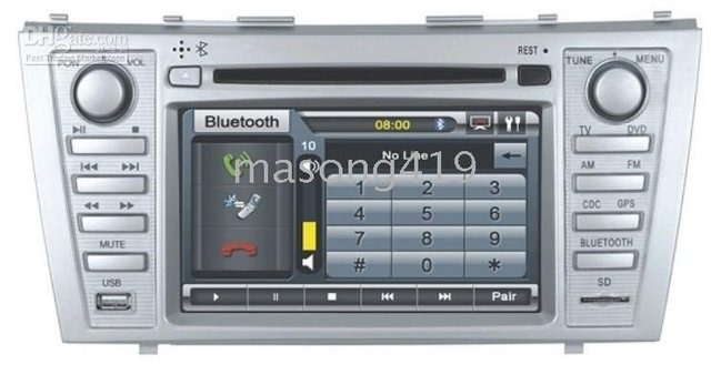 TOYOTA CAMRY Car DVD Player with Navigation System+Bluetooth