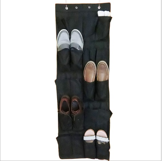 MLITDIS Travel Storage Bag Toy Shoes 4 Colors Door Backside Storage Bags Home Case Nonwoven Fabric Shoe Storage Bag Organizer(China (Mainland))