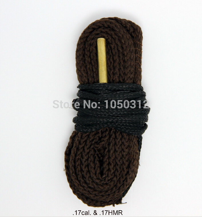 Hot Hopes Bores Cleaning 4 5mm 17 Caliber Rifle Snake Sling Cleaner 24010 Tactical Hunting Guns