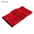 2016 New Men s Scarf Chinese Lucky Red Pashmina With Cotton Warm Scarf Men 135 175