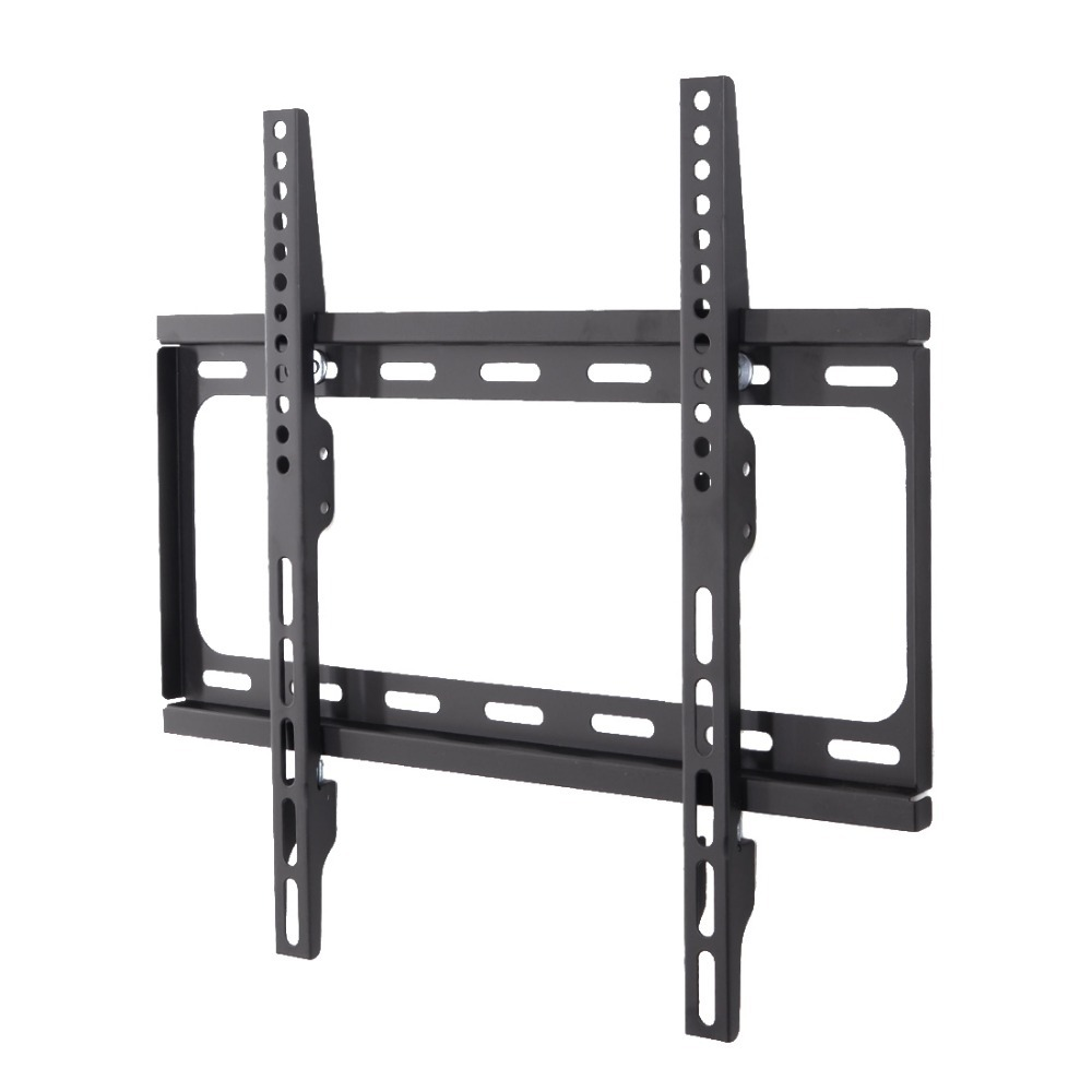 F012 FLEXIMOUNTS Heavy Duty Low Profile Fixed TV Wall Mount for 26 28 29 32 42 47 49 50 55 TV Size w/ Bubble Level(China (Mainland))