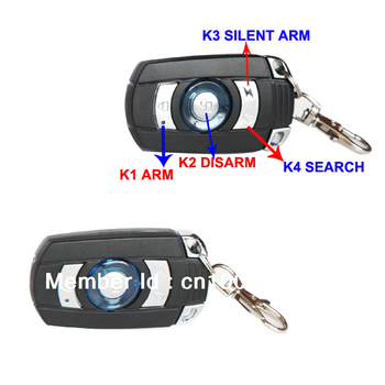 PKE car alarm system, car passive keyless entry system,  auto lock and unlock, auto arm and disarm, wholesale, new