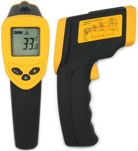Freeshipping+Wholesale and Detail +Pistol Grip Infrared Thermometer