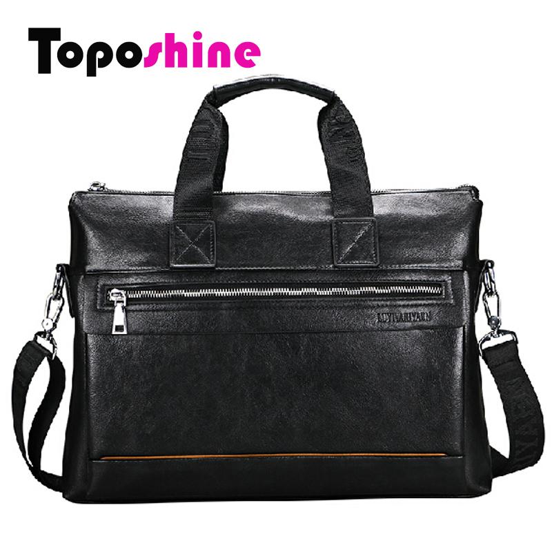 2015 Top quality Good leather Business Mans Bag Male shoulder bag handbag mens briefcase bag (ly7016-3)<br><br>Aliexpress