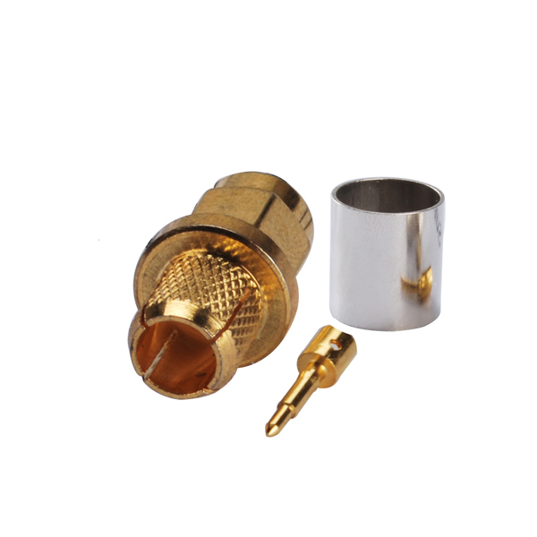 RF Coaxial RP SMA macho: SMA conector macho con hembra pin central for LMR300(China (Mainland))