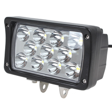 Hot Sale! Superbright 2145LM 11 x 3W Epistar Bead LEDs Square Offroad LED Work Light(China (Mainland))