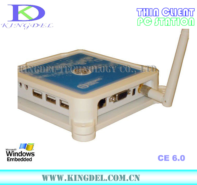 2pcs/lot N380 ( TS660 ) MINI PC Wireless ARM11 Win CE 6.0 OS Network Cloud Terminal Thin Client Net Computer Sharing with wifi(China (Mainland))