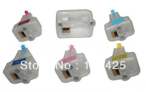 Гаджет  1Set Empty Refillable ink cartridge for HP363 XL for Photosmart C5180 C6180 C6280 C7160 C7180 C7280 C8180 D6160 D6180 D7145 None Офисные и Школьные принадлежности
