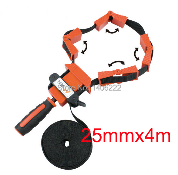 Multifunction blet clamp Woodworking Quick Adjustable Band Clamp Polygonal clip 90 Degrees Right Angle Corner Photo Frame Clips(China (Mainland))