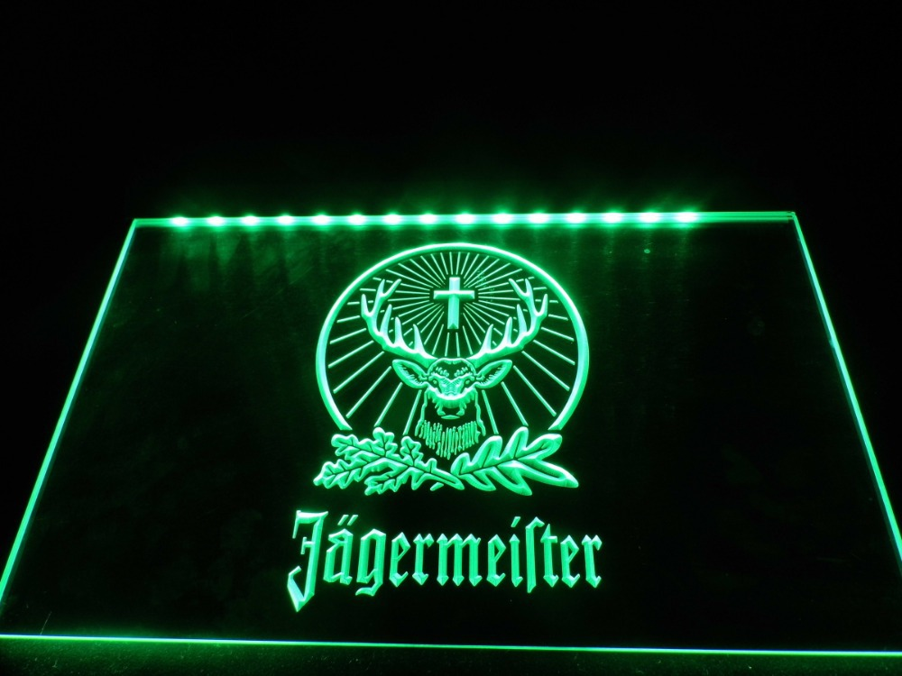 TR001- Jagermeister -LED Neon Light Sign hang(China (Mainland))