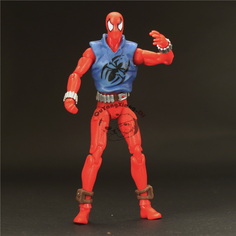 New York ComicCon Exclusive Marvel Universe Hero 3.75 Inch Toy: Scarlet Spider Action Figure Grey(China (Mainland))