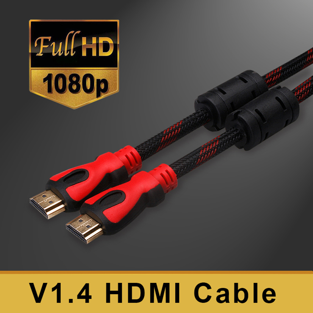 EDAY HDMI cable HDMI to HDMI cable 1.5M 3M 5M 10M 4K HDMI cable 1.4 1080P 3D for PS3 projector HD LCD Apple TV computer cable(China (Mainland))