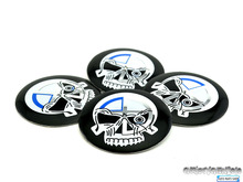 Buy 4PC/Set Styling Skull Logo Car Wheel Center Caps Emblem Sticker Motorsport M Power Car Hubs Caps Rims Cover Badge Sticker for $4.23 in AliExpress store