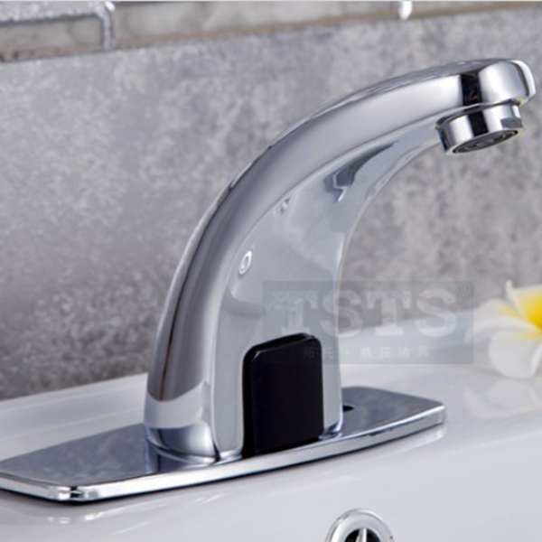 Automatic Inflared Sensor Faucet For Kitchen Bathroom Sink Water Saving Inductive Electric Water