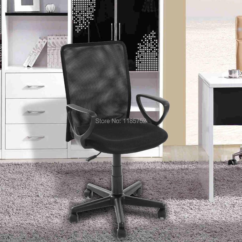 2014 Hot Brand New High Quality Black MESH Chair Office Chair Computer Chair With Arms Office Furniture(China (Mainland))