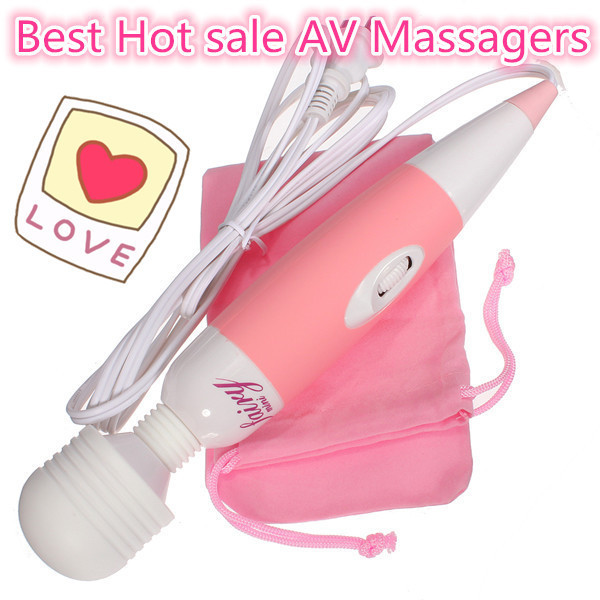 Free Shipping Multi-Speed Wand Massager, AV Vibrator Clit Stimulation, Body Massager, Adult Sex Toys For Women, Sex Products(China (Mainland))