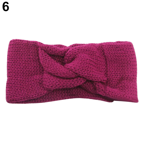 Cool Women Girls Knitted Twisted Knotted Turban Hair Band Ear Warmer Head Wrap Headband Hairwear(China (Mainland))