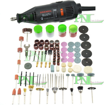 Electric Rotary Grinder Polish Sanding Tool Kit Grinding Variable Speed 161pcs