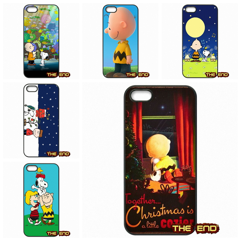 For Huawei Honor 3C 4C 5C 6 Mate 8 7 Ascend P6 P7 P8 P9 Lite 5X G8 Charlie Brown Christmas Cute Mobile Phone Cases Covers(China (Mainland))