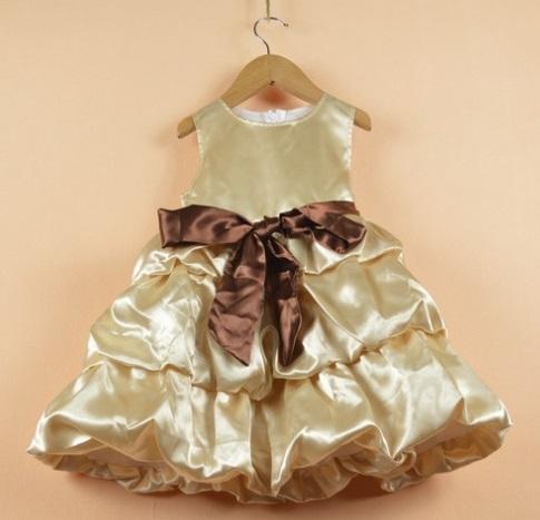 Girl's one-piece Dresses party dress Gilrs TUTU dress Discount SALE Retail LFF(China (Mainland))