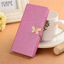 Original Luxury Ultra Thin Leather Cover Case For Samsung Galaxy Core 2 Duos SM-G355H G3559 G355 Flip Book Wallet Phone bag