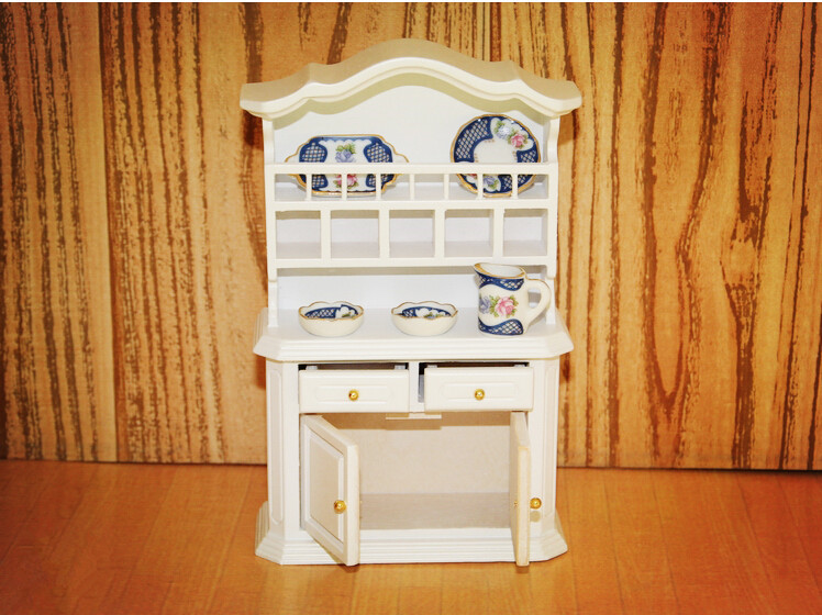Free Shipping 1/12 BJD Doll Furniture Wardrobe Cupboard for Child's Play ,2 Color Mini Miniature Dollhouse Accessories Hot Toys(China (Mainland))